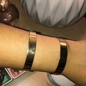 H&M Gold Open Cuff Bracelet